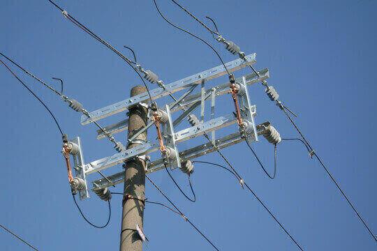 Poste de Energia Residencial
