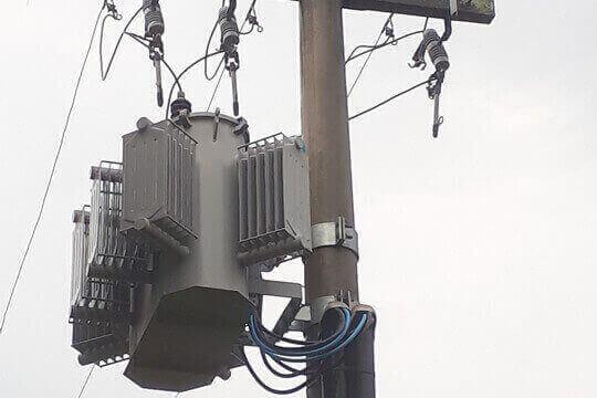 Transformador de Energia Poste